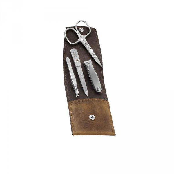 Kit manucure Dovo avec coupe ongles pince à épiler lime et ciseaux à ongles