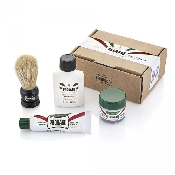 Kit rasage homme Proraso format voyage