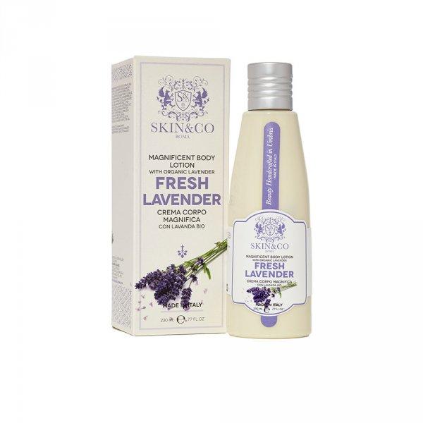 Lait pour le corps Skin and co Fresh Lavender