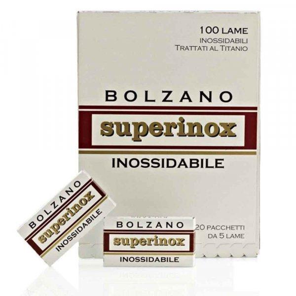 Lame de rasoir Bolzano Superinox x100
