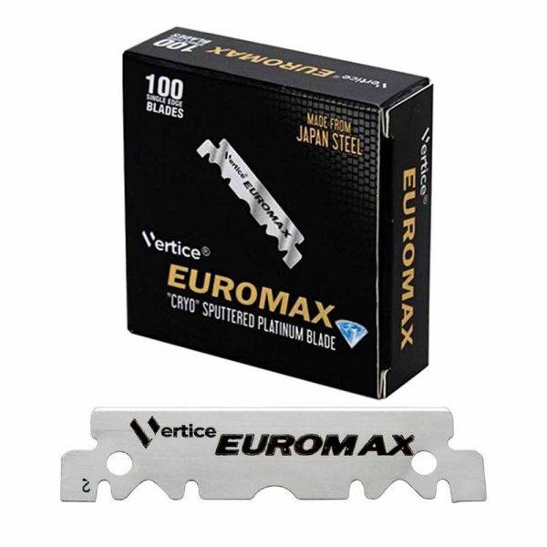 Lames de rasoir Euromax par 100