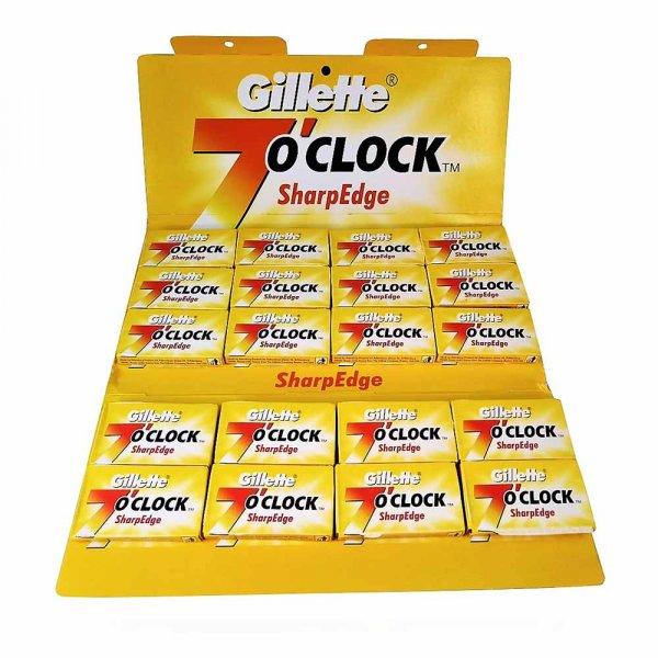 Lames de rasoir Gillette 7 O Clock SharpEdge x100