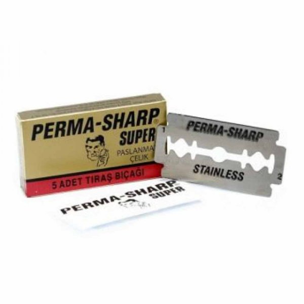 Lames de rasoir Perma Sharp par 5