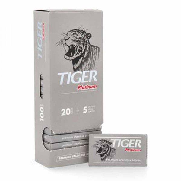 Lames de rasoir Tiger Platinium par 100