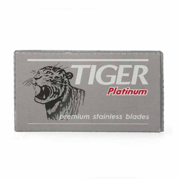 Lames de rasoir Tiger Platinium par 5