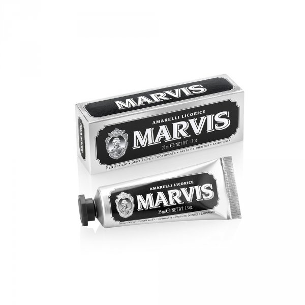 Marvis Dentifrice 25ml Mini Black
