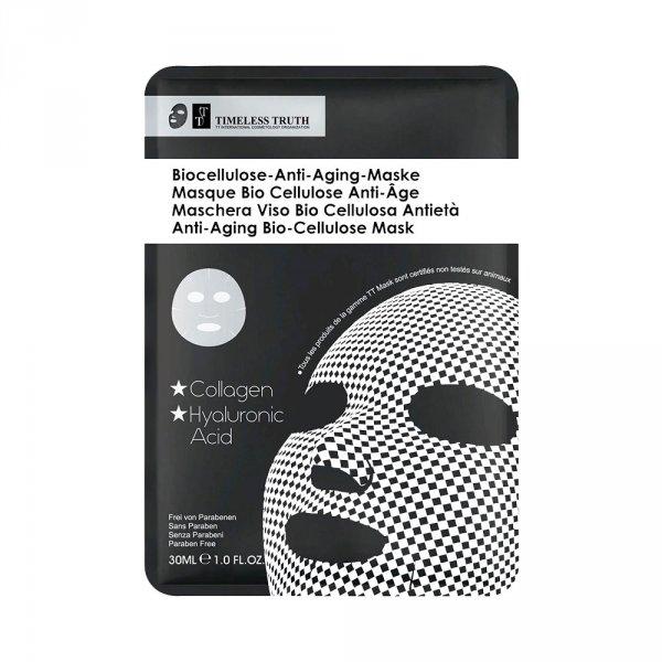 Masque visage homme collagène biocellulose anti-âge TimelessTruth