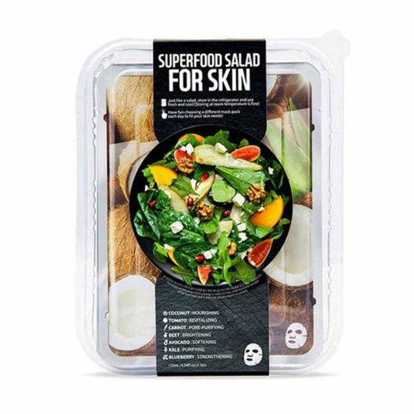 Masque visage tissu Superfood Sparkle Dazzle