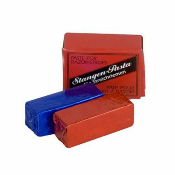 Pate abrasive rouge et bleue Herold
