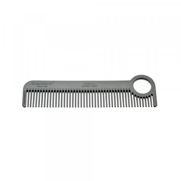 Peigne à barbe carbone Chicago Comb n°1