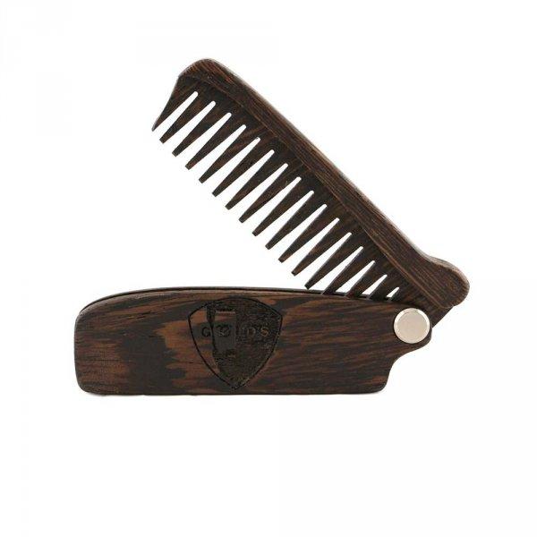 Peigne à barbe pliable GOELDS en
