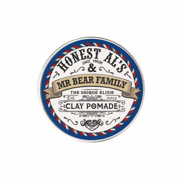 Pommade cheveux Mr Bear Family Honest Al Clay Pomade
