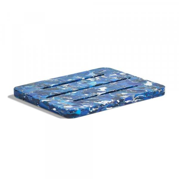 Porte savon bleu Umaï