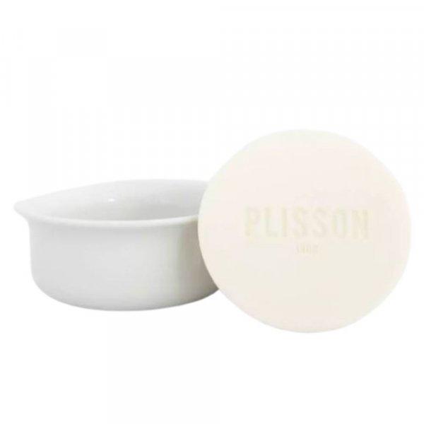 Savon à barbe Plisson avec son bol en porcelaine