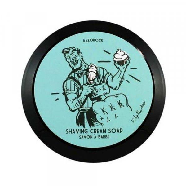 Savon à barbe Razorock Blue Barbershop
