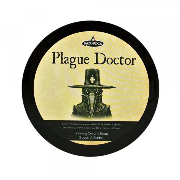 Savon à barbe Razorock Plague Doctor