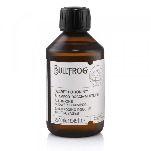 Shampoing 2en1 homme Bullfrog Secret Potion 1