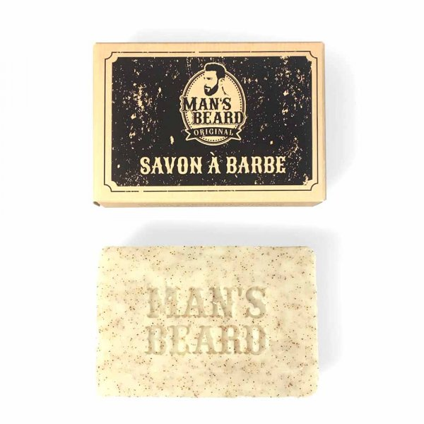 Shampoing à barbe Man's Beard au lait de chèvre