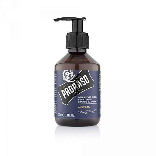 Shampoing pour barbe Proraso Azur Lime