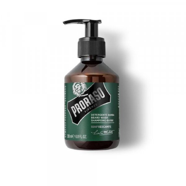 Shampoing pour barbe Proraso Green Line