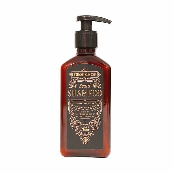 Shampoing pour barbe Tonsor & Cie