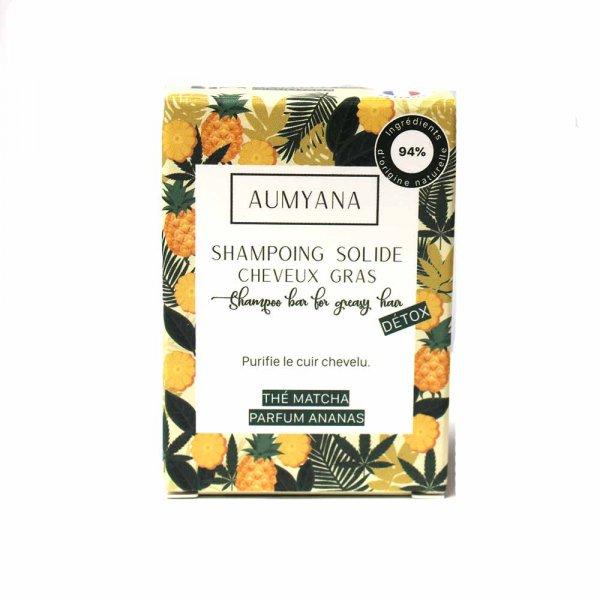 Shampoing solide Aumyana cheveux gras