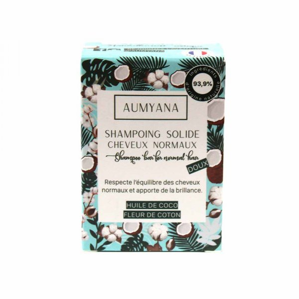 Shampoing solide Aumyana cheveux normaux
