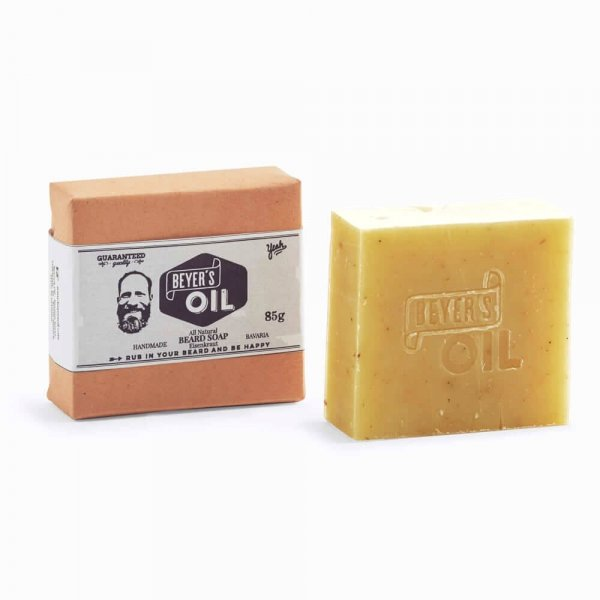 Shampoing solide barbe & cheveux Beyer's Oil