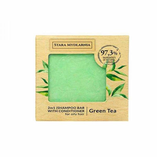 Shampoing solide Bodymania Green Tea