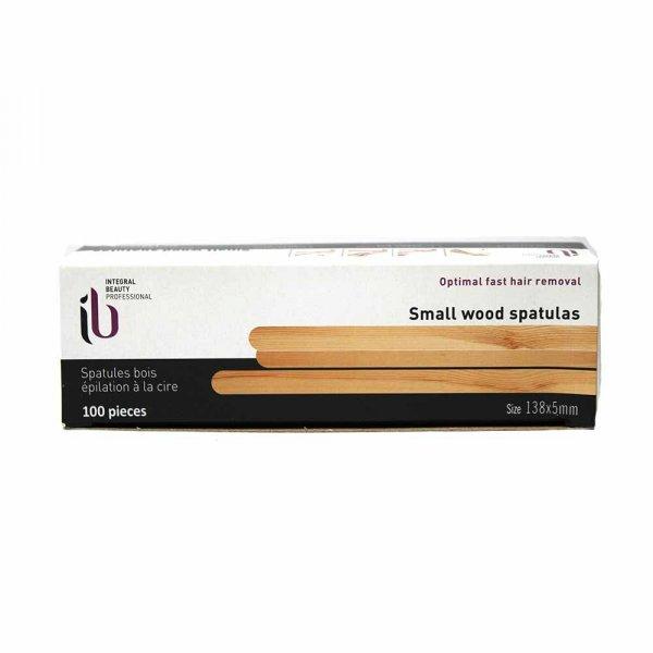 Spatule bois epilation par 100 zone sensible