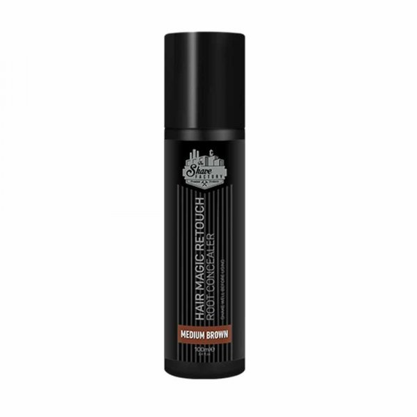 Spray teinture cheveux homme The Shave Factory Magic Retouch