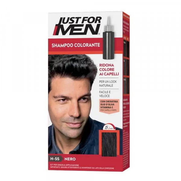 Teinture cheveux homme Just for Men JFH55