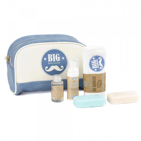 Trousse de toilette du grand voyageur Big Moustache