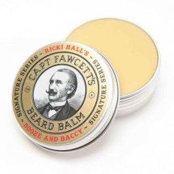 Baume barbe Captain Fawcett Ricki Hall Booze and Baccy
