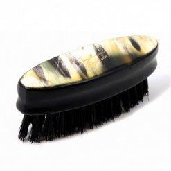 Brosse à barbe Corne Marbrée Gentleman Barbier