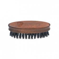 Brosse a barbe GOELDS en bois de noyer