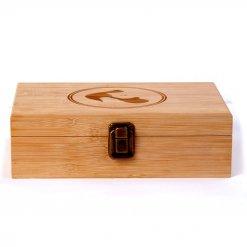 Coffret de rangement en bambou