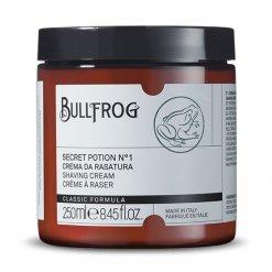 Crème à raser en pot Bullfrog Secret Potion n°1