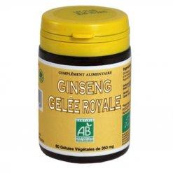 Gélules Bio Ginseng et Gelée Royale