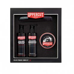Kit coiffure homme Uppercut Deluxe Pomade