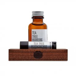 Kit entretien barbe Beardbrand Tea Tree avec Huile et Cire