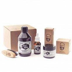 Kit entretien barbe Beyer's Oil Grande taille verveine bergamote