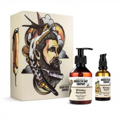 Kit entretien barbe Brooklyn Soap Whisky