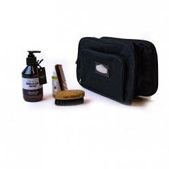 Kit entretien barbe trousse et 4 produits