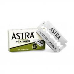 Lames de rasoir Astra par 5 Superior Platinum