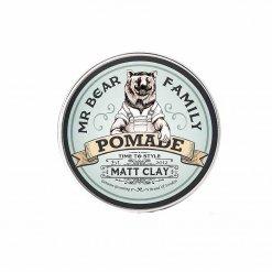 Pommade cheveux Mr Bear Family Matte Clay