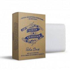 Shampoing à barbe solide au lait d'ânesse Lames & Tradition