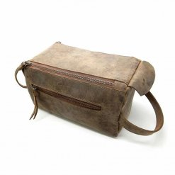 Trousse de toilette Coucot marron