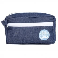 Trousse de toilette homme Big Moustache Denim