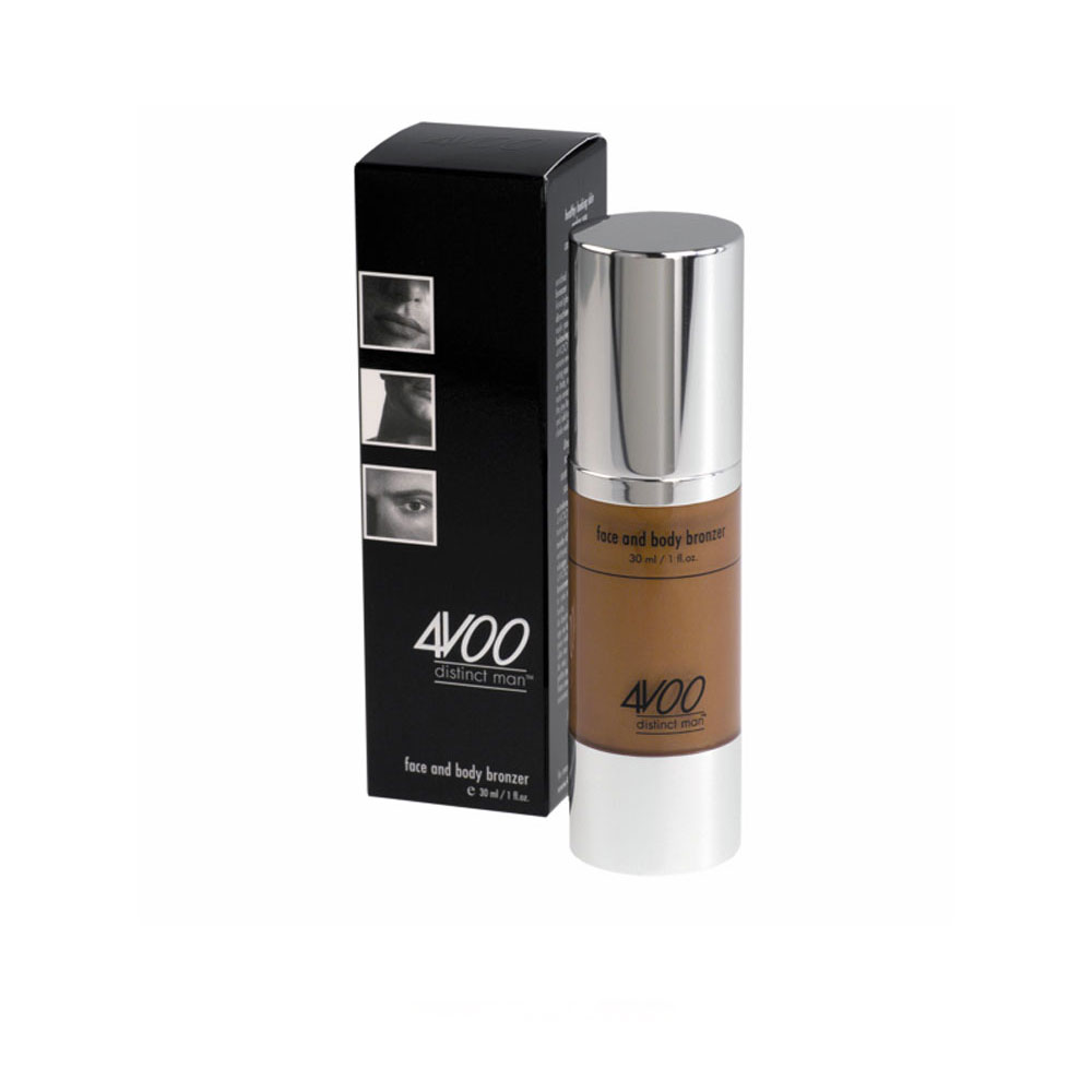maquillage homme cr me visage et corps teint e bronze 4voo 30ml. Black Bedroom Furniture Sets. Home Design Ideas